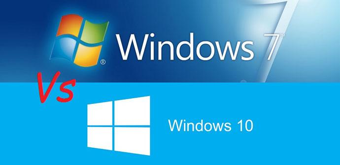 Windwos 10 y Windows 7