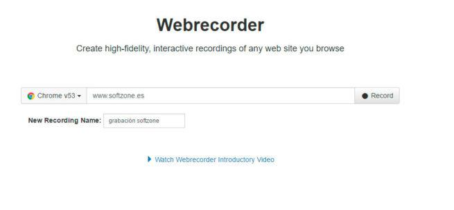 grabar sesión del navegador