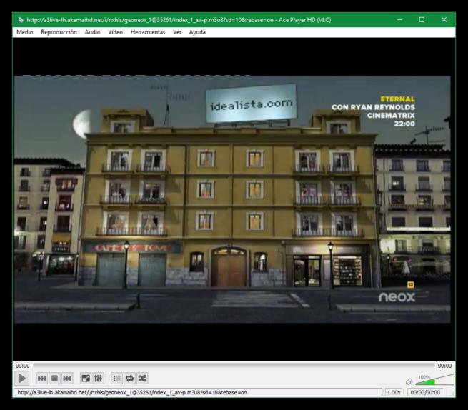 Ace Stream Player - Reproducir Neox