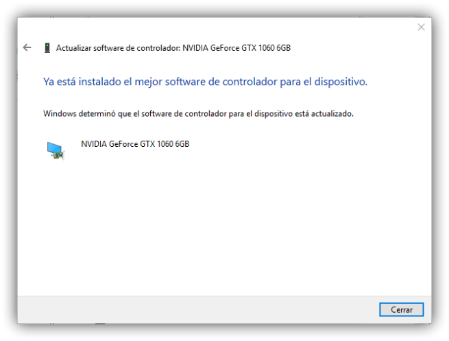 Actualizar controladores de Windows 3
