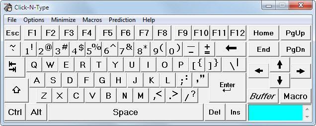 Teclados virtuales Windows