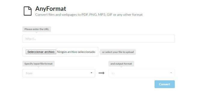 convertir archivos a otro formato