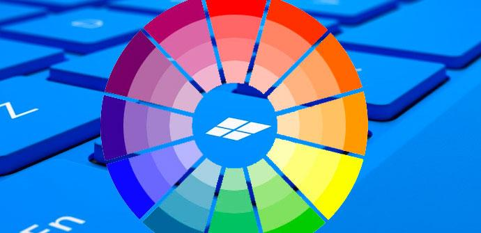 colores windows 10