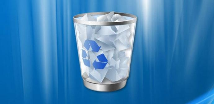 Papelera de reciclaje en Windows 10