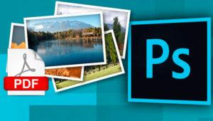 Cómo convertir imágenes a otro formato o extraerlas de un PDF con Photoshop