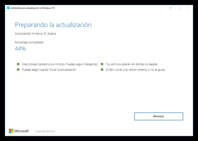Asistente de actualización a Windows 10 Creators Update 5