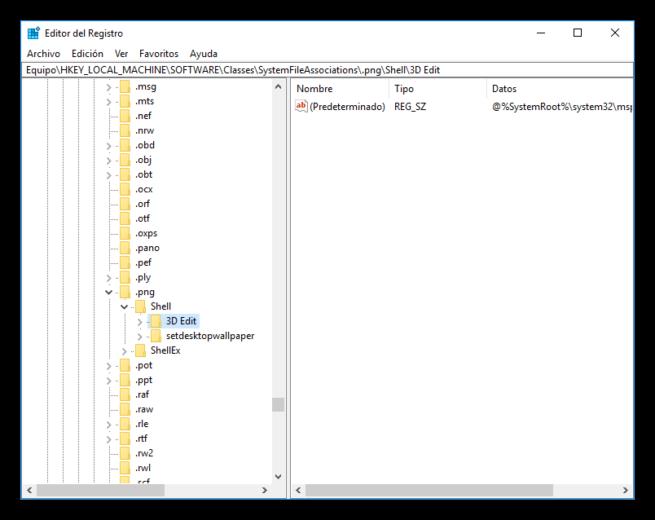 Editar con Paint 3D - Windows 10 Creators Update