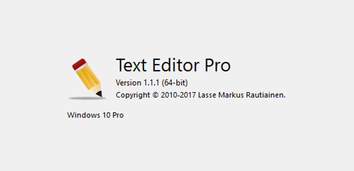 Text Editor Pro Logo