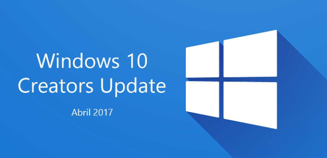 Windows 10 Creators Update Abril 2017