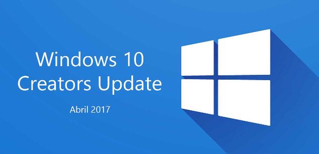 Windows 10 Creators Update Abril 2017