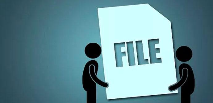 archivos de gran tamaño