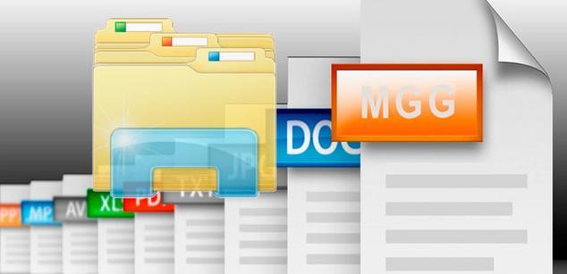 mostrar la extensión de archivos