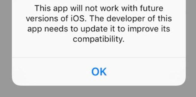 iOS 11 32 bits