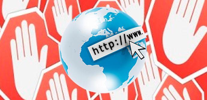 bloquear internet