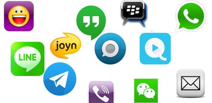 WhatsApp mensajería instantánea