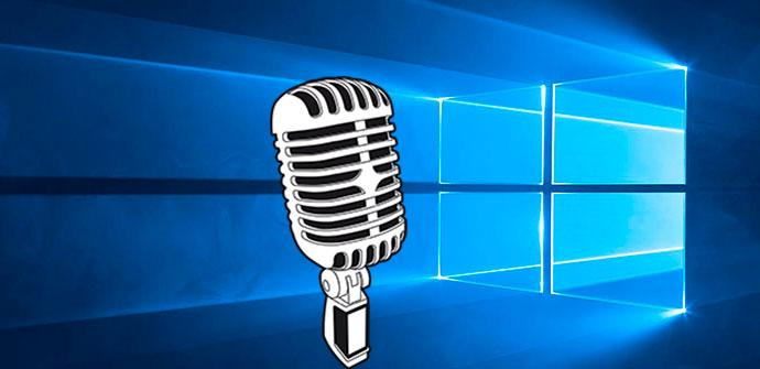 micrófono en windows 10