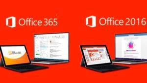 Diferencias entre Microsoft Office 2016 y Office 365