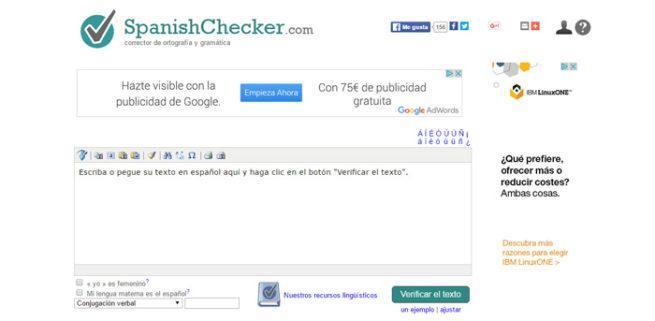 SpanishChecker ortografía