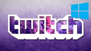 Twitch para Windows ya se encuentra disponible