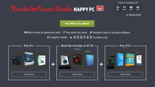 Aplicaciones Humble Bundle abril 2017