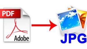 Cómo convertir las páginas de un PDF a JPG