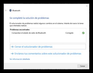 Solucionar problemas Bluetooth