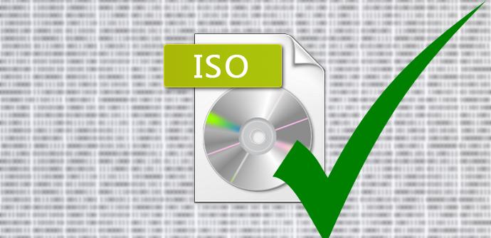 Verificar integridad ISO