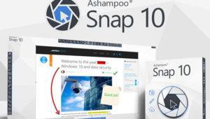 Análisis del nuevo capturador de pantalla Ashampoo Snap 10
