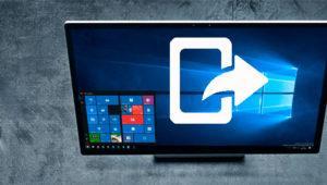 Conoce el nuevo menú compartir que llegará con Windows 10 Creators Update