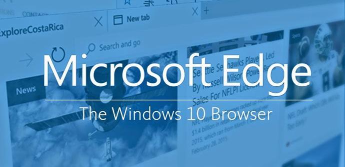 Windows 10 y Microsoft Edge