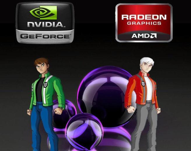 Controladores NVIDIA AMD