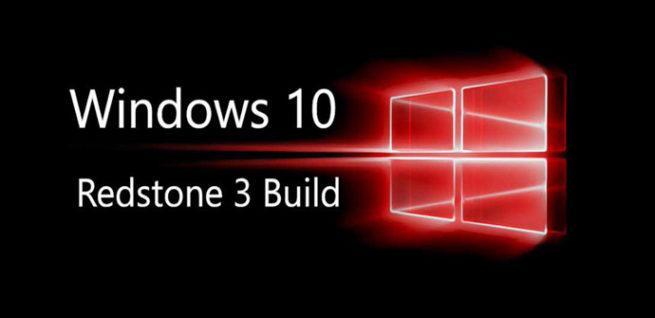 Windows 10 Redstone 3 Microsoft