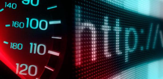 velocidad conexión a internet