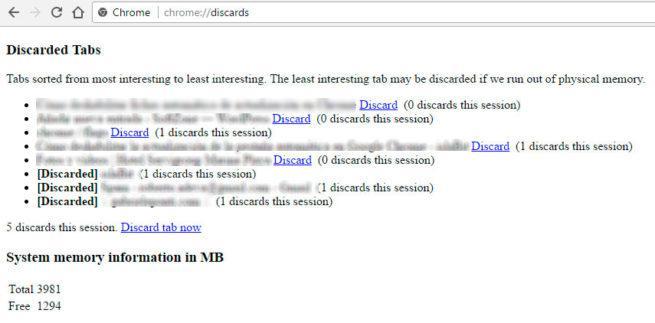 actualización automática de las pestañas de Google Chrome