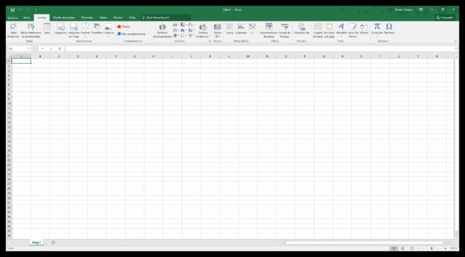 Hacer un calendario en Excel desde cero