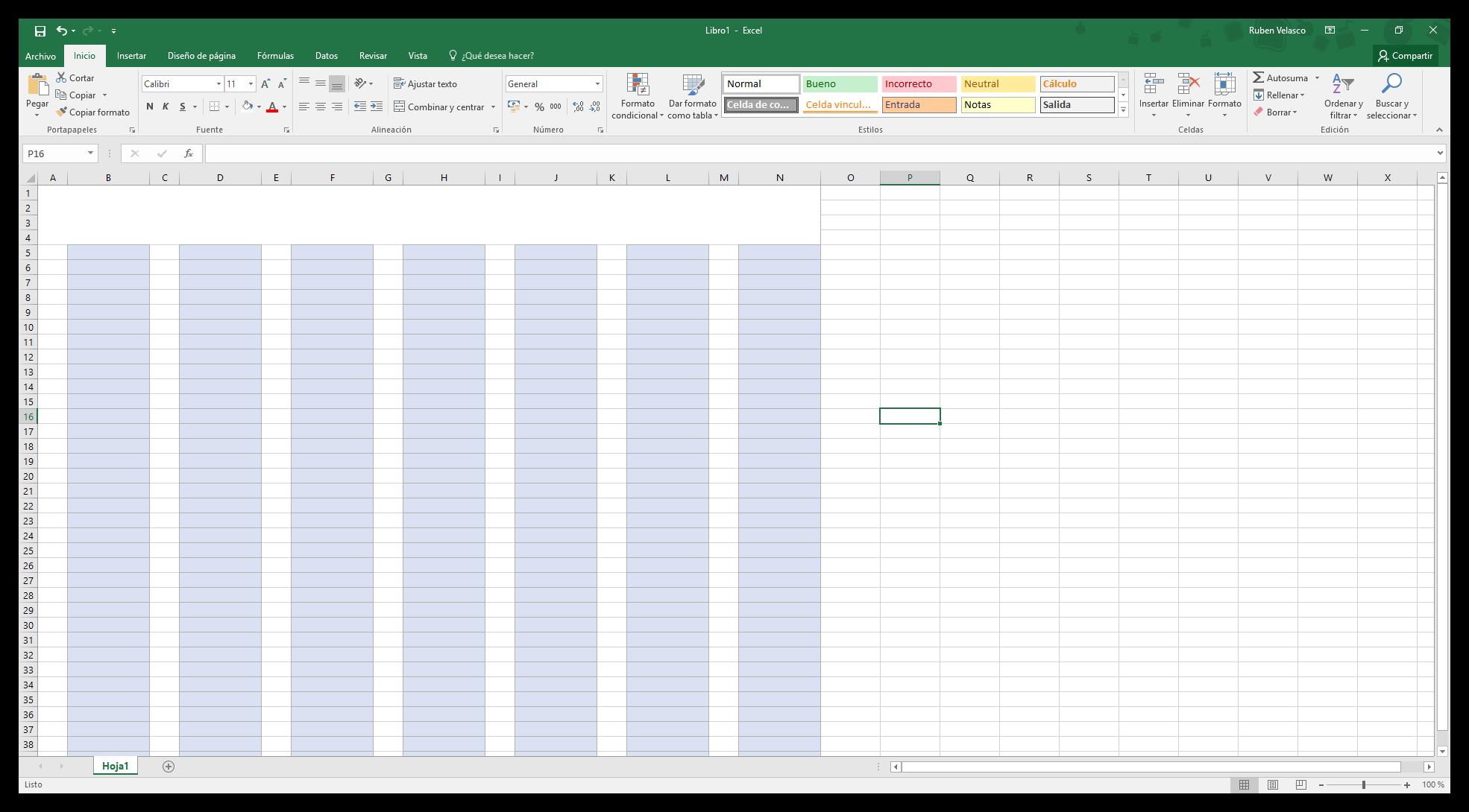 Como Hacer Un Calendario En Word.Como Hacer Un Calendario 2018 En Excel