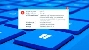 "Cómo solucionar el error ""Code 45"" en Windows"