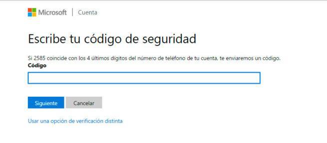 cuenta de Microsoft