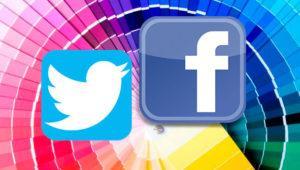 Personaliza y cambia el color de fondo de Twitter o Facebook