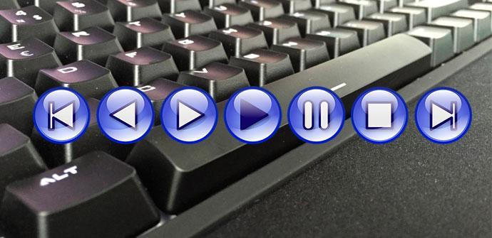 controles multimedia