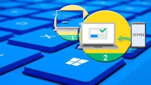 Añade verificación en dos pasos en Windows 10