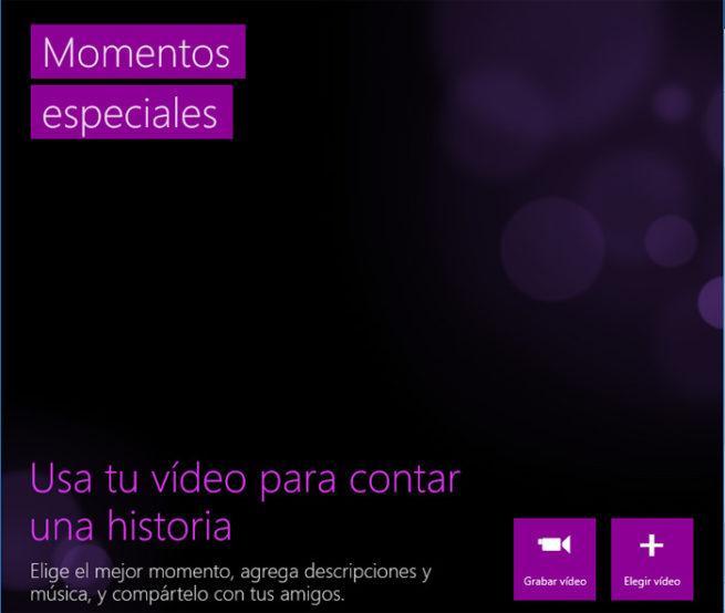 Microsoft Momentos Especiales