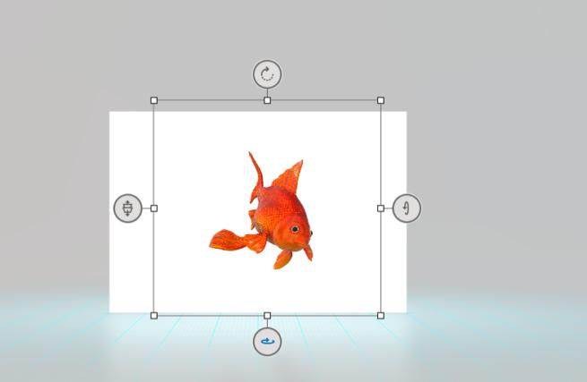 selección objeto 3D