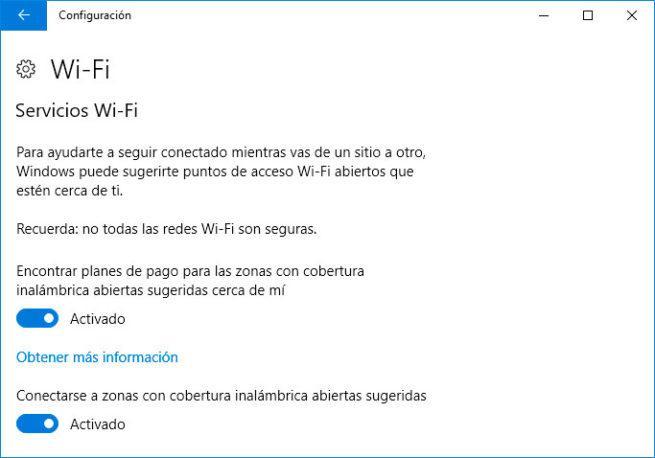 Sensor WiFi y Servicios WiFi