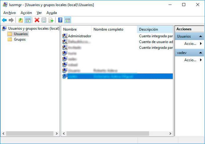 desbloquear una cuenta en Windows