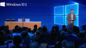 Windows 10 S no pretende acabar con Windows 10 Mobile, dice Microsoft