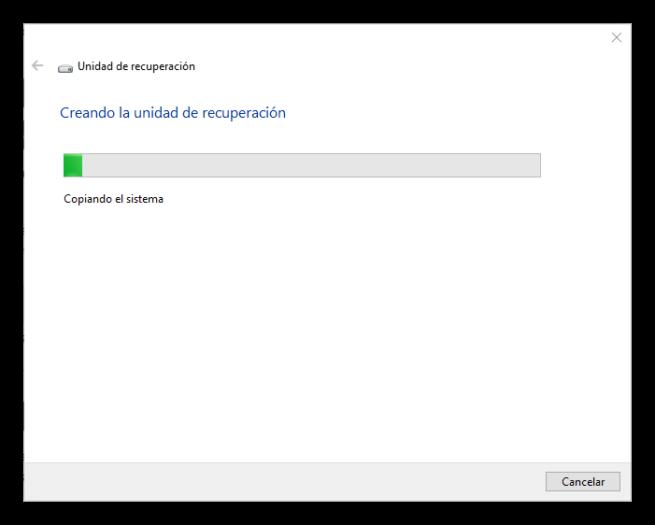Creando Unidad de recuperación Windows 10 S
