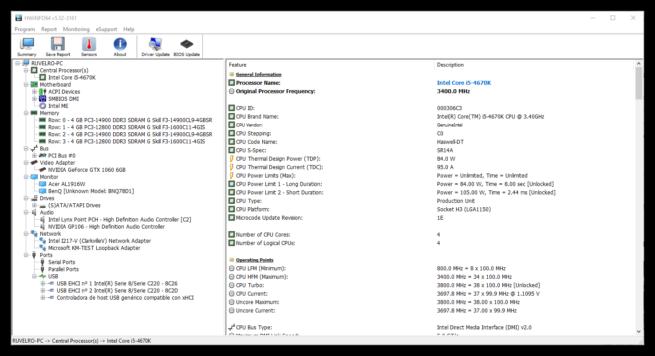HWiNFO64 - Información hardware