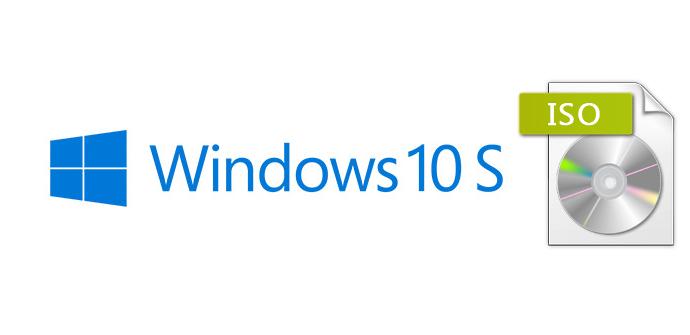 ISO de Windows 10 S
