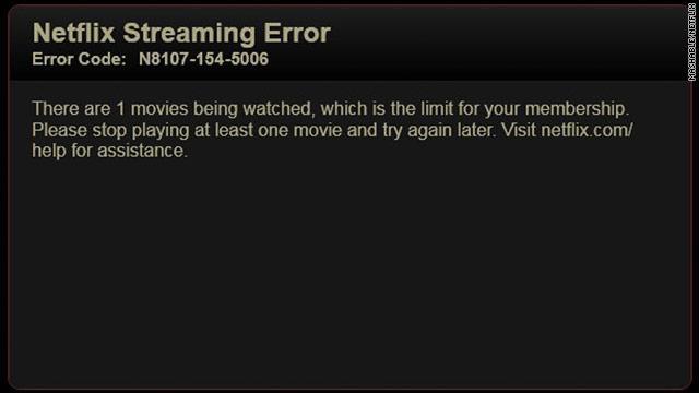 Limite Netflix